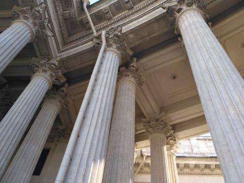 architecture columns aesthetics