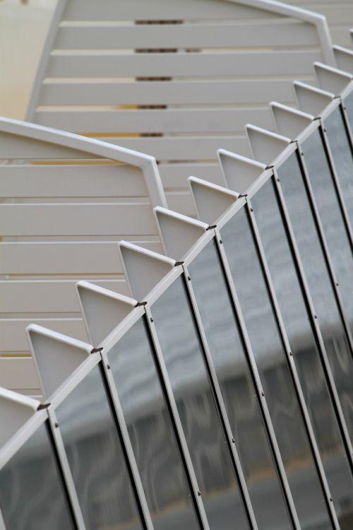architecture railing facade