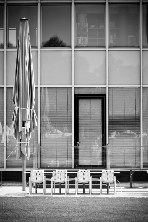 architecture chairs building
