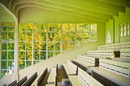 architecture grandstand sit