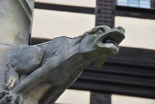 architecture gargoyle stone figure