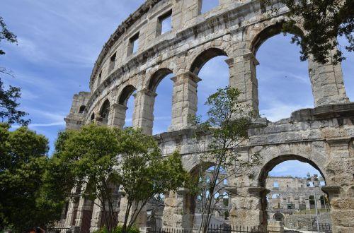 architecture ancient amphitheater