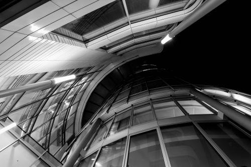 architecture glass futuristic