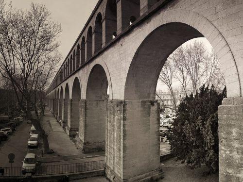 architecture water pipe aqueduct
