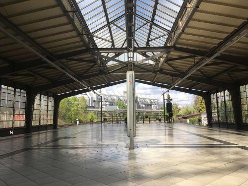 architecture horizontal empty
