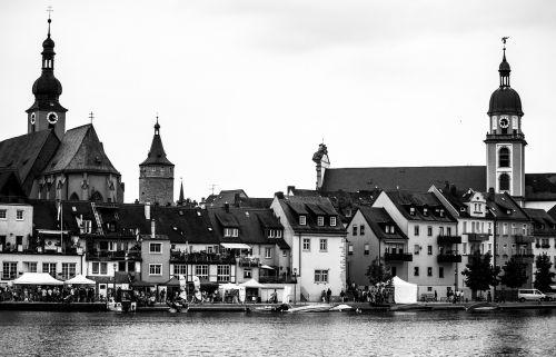 architecture river church