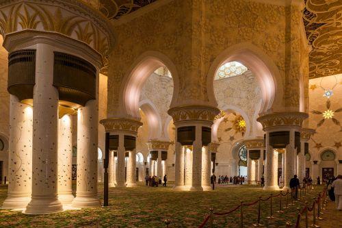 architektūra, ramstis, kelionė, arka, pastatas, religija, orientyras, kultūra, mečetė, turizmas, Abu Dabis, lankytinos vietos, turistų atrakcijos, be honoraro mokesčio