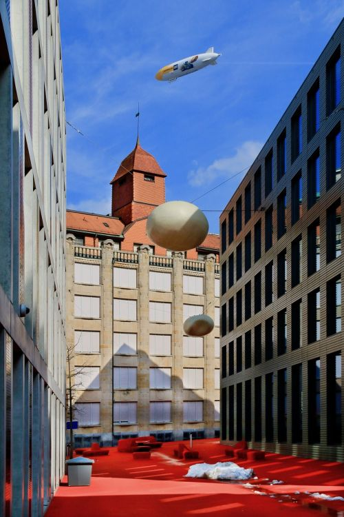 architecture city zeppelin