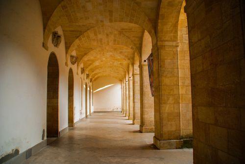 architektūra, arcade, in, kelionė, pastatas, salė, turizmas, Burgundija, perspektyva, france, be honoraro mokesčio