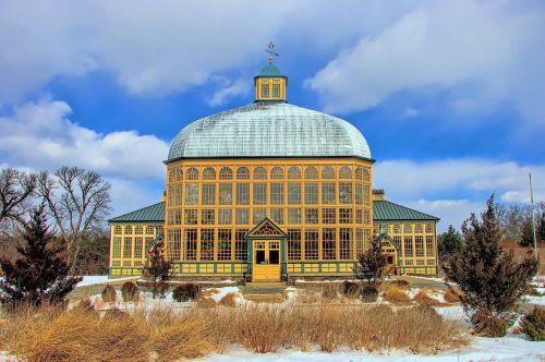 architecture sky dome