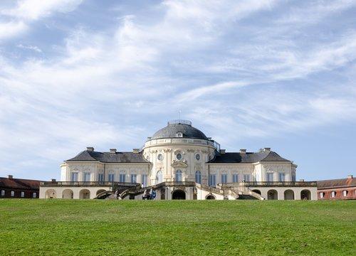 architektūra, statyba, dangus, metai, kelionė, Rush, paminklas, žymus objektas, Miestas, istoriškai, Schloss vienatvė, Štutgartas, Württemberg, Baden Württemberg
