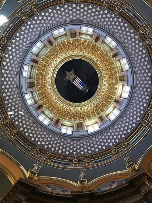 architecture  ceiling  dome