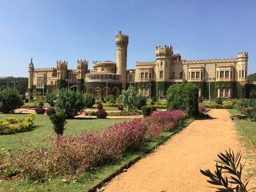 architecture  travel  bangalore palace