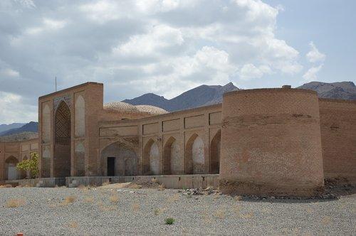 architecture  caravanserai  iran