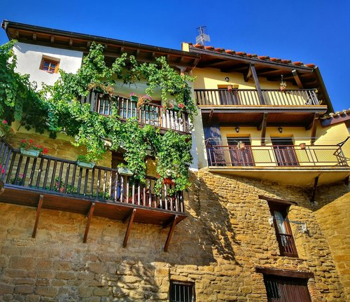 architecture  houses  balconies