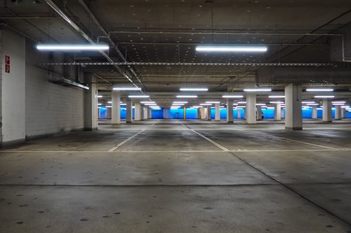 architecture  underground car park  concrete