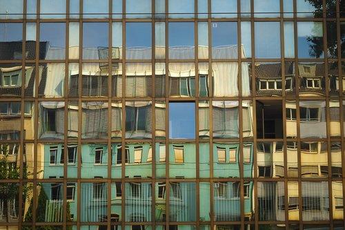 architecture  glass facade  modern