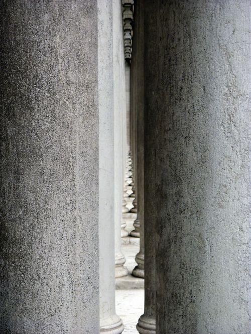architecture columnar building