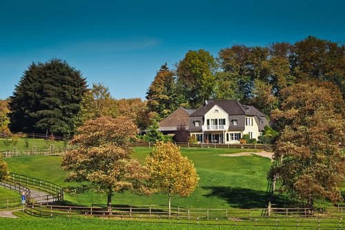 architecture  country house  house