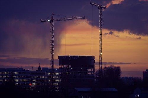 architecture  evening  city