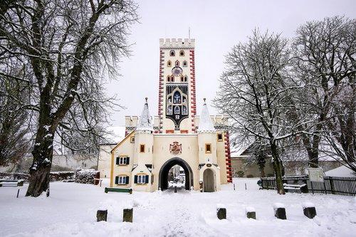 architecture  winter  snow