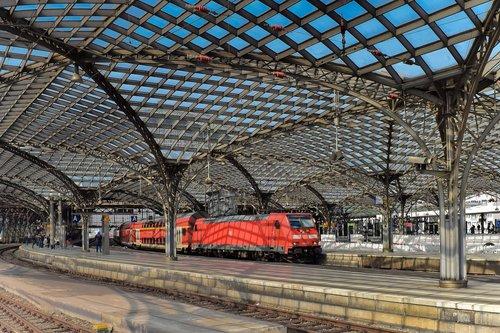 architecture  railway station  train