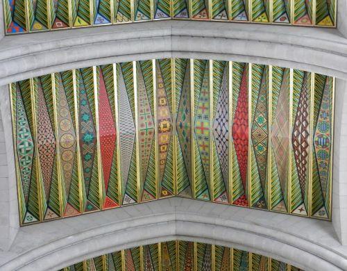 architecture almudena cathedral spain