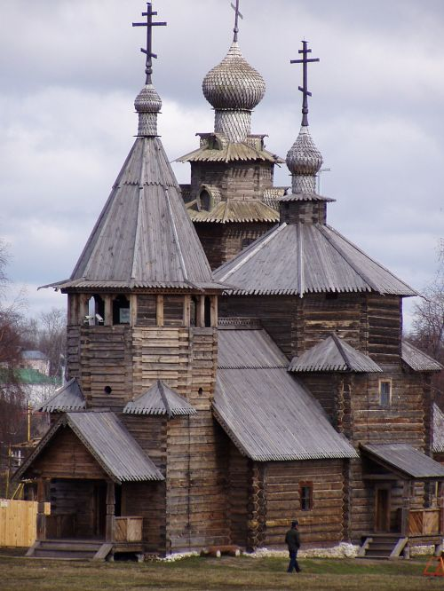 architecture suzdal wooden architecture