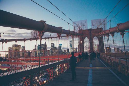 architecture suspension bridge