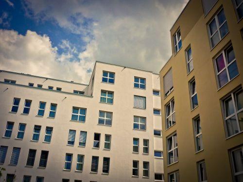 architektūra, namai, pastatas, fasadas, moderni architektūra, miestas, gyventi, spalva, langas, Svetainė
