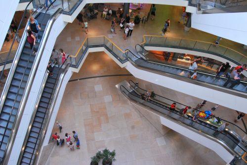 apsipirkimas & nbsp, centras, apsipirkimas, vartojimas, stresas, žmonės, gylis, bedugnė, architektūra iv