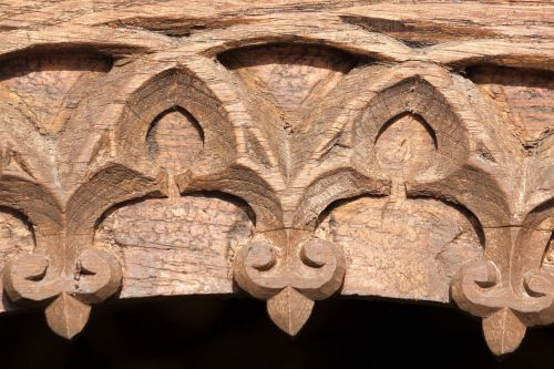 archway gothic carved