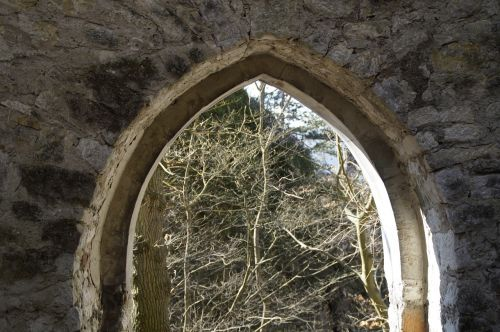 archway castle middle ages