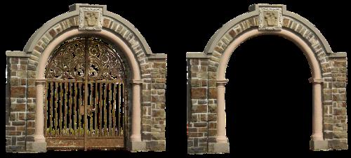 archway goal iron