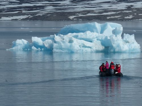 arctic ice floes cold