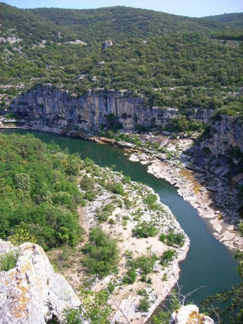 ardeche river france
