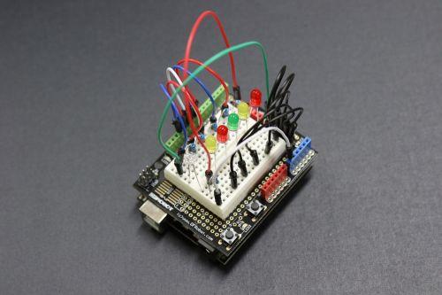 arduino circuit electron