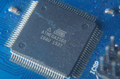 arduino atmega2560 microchip