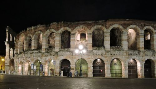 arena verona night