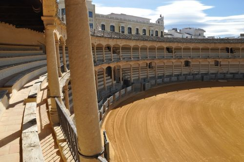 arena bullfight spain