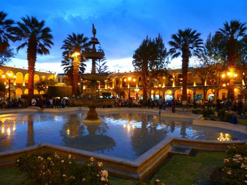 arequipa city center