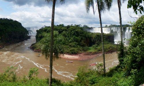 argentina iguazu waterfall