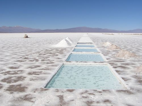 argentina lake salted