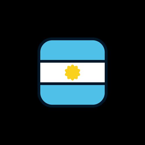 argentina  argentina icon  argentina flag