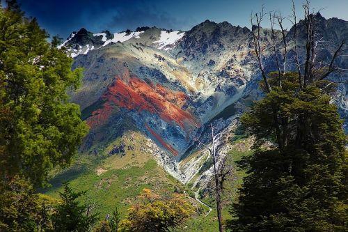 argentina patagonia,argentina,natūralus,gamta,pietų argentina,Andes kalnai,kalnas,šventė,spalvinga,ramus,kraštovaizdis,andes,bariloche,turizmas