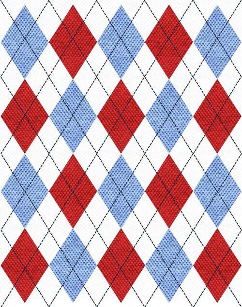 argyle fabric pattern