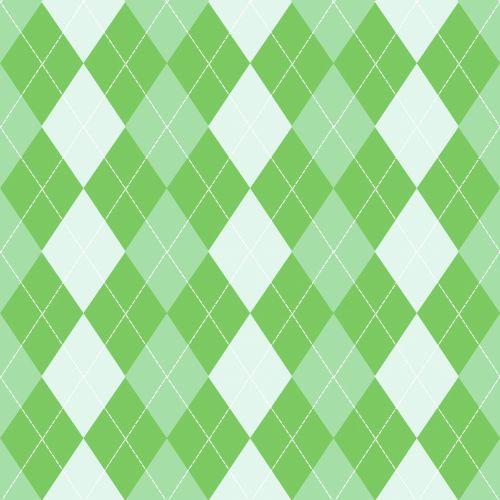 Argyle Background Green Pattern