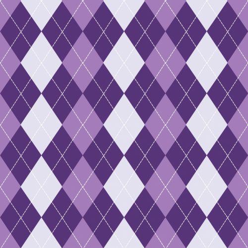 Argyle Background Purple