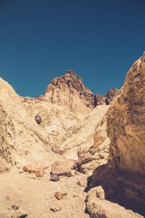 arid barren desert