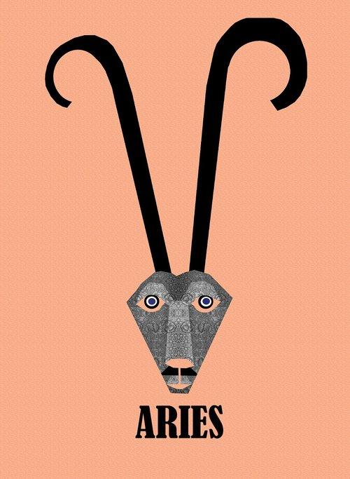 aries  sign  symbol